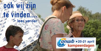 Hollandtent is aanwezig op de ANWB Kampeerdagen 20 en 21 april Amsterdam 2013